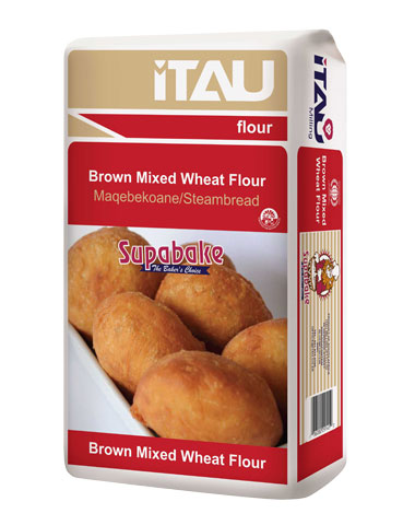 Brown Mixed Wheat Flour - Sizes Available: 4x2.5kg, 4x5kg, 12.5kg, 25kg, 50kg
