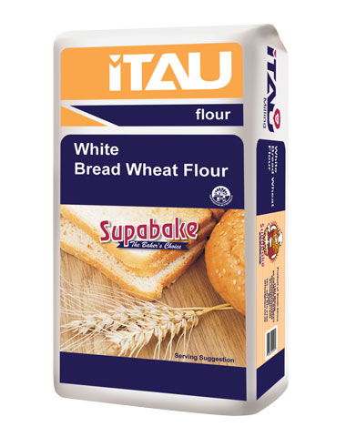 White Bread Wheat Flour - Sizes Available: 4x2.5kg, 4x5kg, 12.5kg, 25kg, 50kg