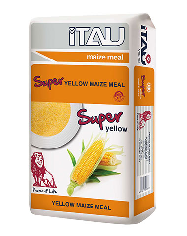 Super Yellow Maize Meal - Sizes Available: 5kg, 12.5kg